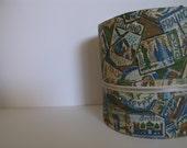 Vintage Travel Hat Box