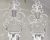 Earrings Silver wire -The Masterpiece
