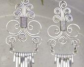 Earrings Silver wire -The Masterpiece