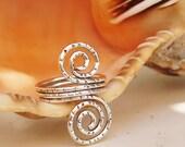 Ring Wire Doubble swirls