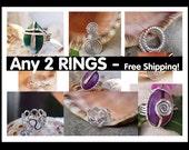 Any 2 Rings - FREE SHIPPING