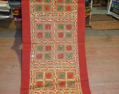 mirror work hand made wall tapestry/indian tapestry/indian home decor/runners