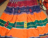 belly dancers skirts/vintage skirts / banjara skirts/tribal indian skirts/  tribal clothes /hand made skirts/ shisha work skirts