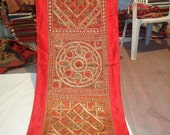 indian mirror work hand made wall tapestry/indian tapestry/indian home decor/runners