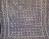beautiful HANDMADE block print kantha quilt throw vegetable ajarak prints