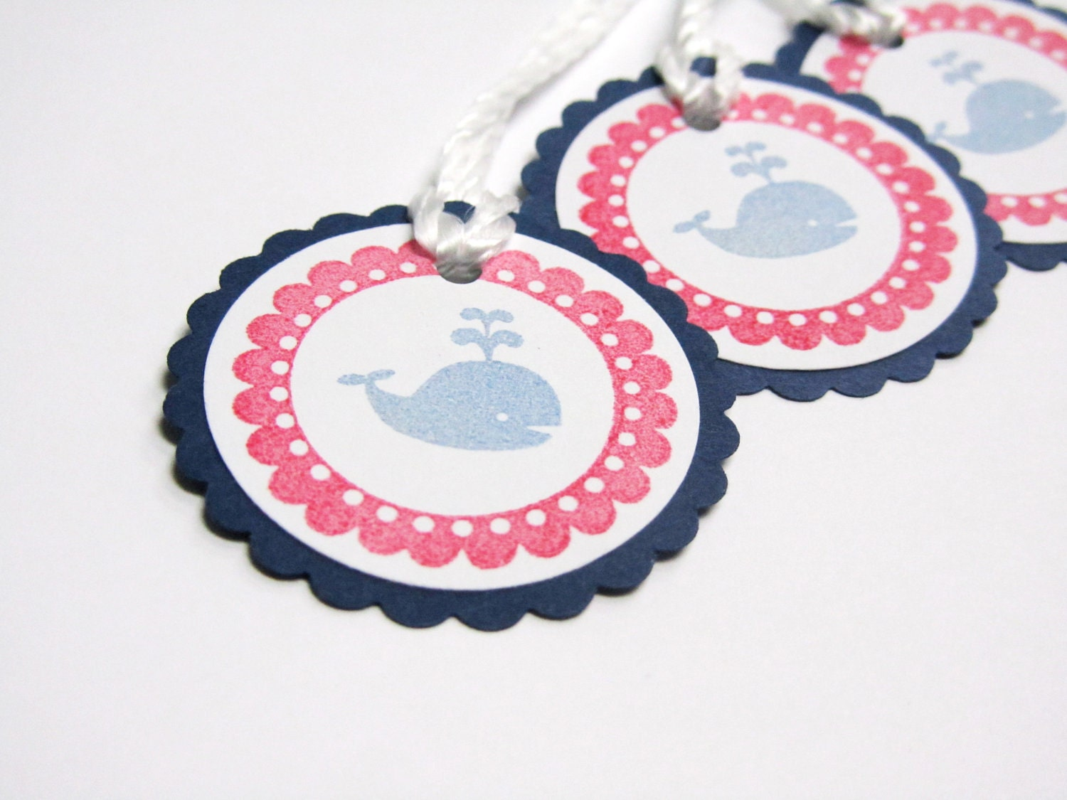 ... 548 New Nautical Baby Shower Name Tags 277 Baby Shower Or Birthday  Party Favor Tags Nautical