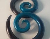 Faded Spirals Earrings