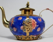 Antique Chinese Handwork Painting Dragon Old Porcelain Tea Pot