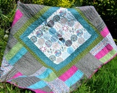 Blackberry Bobbles Handmade Quilt