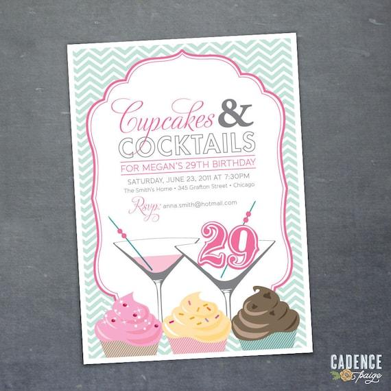 29th 30th 40th 50th Birthday Party Invitation By CadencePaige