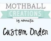 Custom Order for Jennifer C