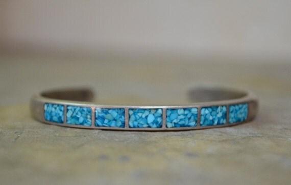 Navajo Composite Turquoise Cuff