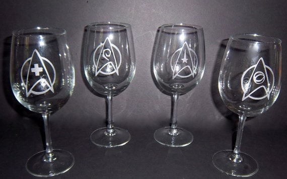 Star Trek Wine Glasses Make Space Exploration A Little