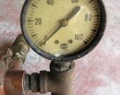 Steampunk.  Gauge and Cylinder