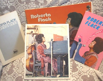 Teaching Guide Kit Roberta Flack Let's Save The Children African American Black Studies 1972 SALE
