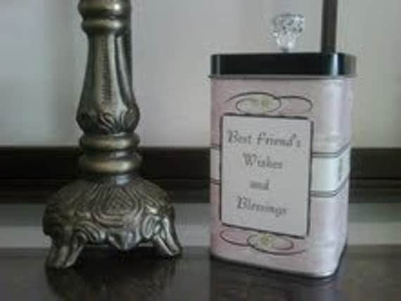 Best Friend's Wishes and Blessings