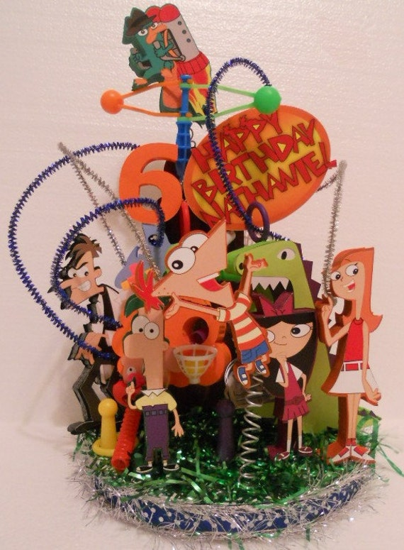 Phineas And Ferb Cake Decorations Uk Cake – Phineas and Ferb Birthday Card