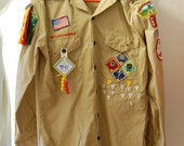 Boy Scouts of America Authentic Uniform Shirt, 1984-85