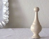 Wooden finial for home decor