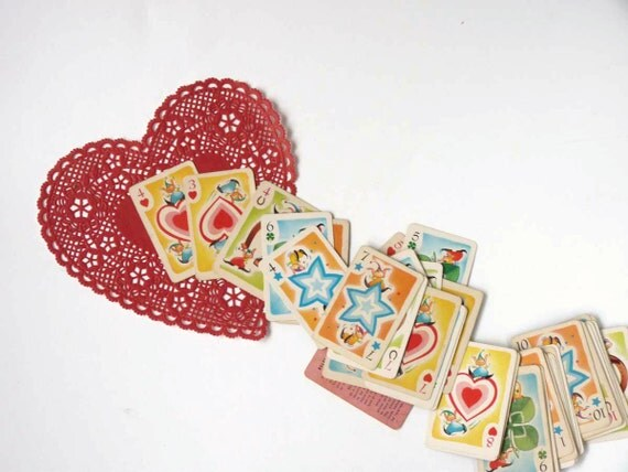 Hearts Card Game, 1951 Whitman