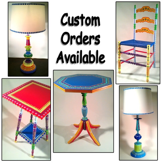 Hand Painted Furniture Wild And Crazy Custom Made To Order