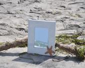 Starfish Mirror Hand Painted Beach House Accessories