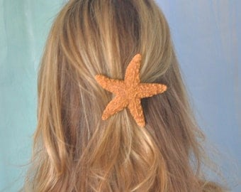 Starfish Hair Clip Large Statement Piece Become a Mermaid or Just Look Like One :)