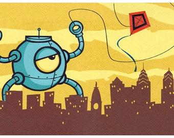 REDUCED PRICE!! Robots Like Kites 2