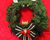 Nightmare Holiday Wreath