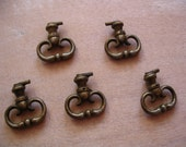 5 French Vintage Drawer Pull Handles
