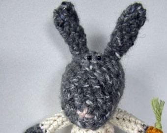 Crochet Pattern for Robert Rabbit
