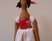 Tilda Doll - Country Girl  49cm. READY TO SHIP