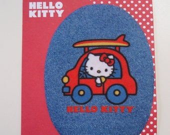 Iron-on Hello Kitty Applique Embroidered Thermo-Adhesive Patch
