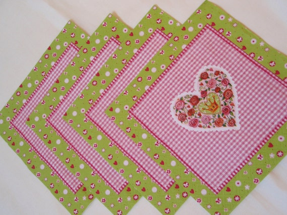 Paper Napkins Serviettes 3 Ply Lovely Set of 7
