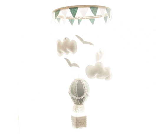 Nursery Mobile - Hot Air Balloon