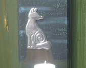 Luna Fox Wall Candle Sconce