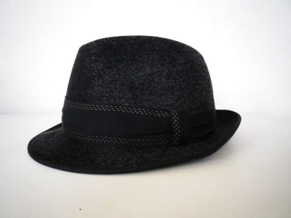 Classic Gray Hat German Vintage Elegance Collectors