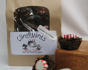 Yummy ClintRMint Horse Treats with Peppermints, 4 1- lb Bags