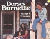 Dorsey Burnette LP Things I Treasure Vintage Vinyl