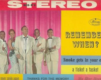 The Platters LP Remember When vintage vinyl