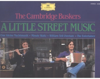 The Cambidge Buskers LP A Little Street Music