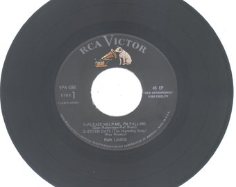 Hank Locklin 45 rpm EP Please Help Me I'm Falling and 3 more