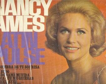 Nancy Ames LP Latin Pulse vintage vinyl pop folk