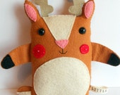 Little Reindeer Handmade Softie: George