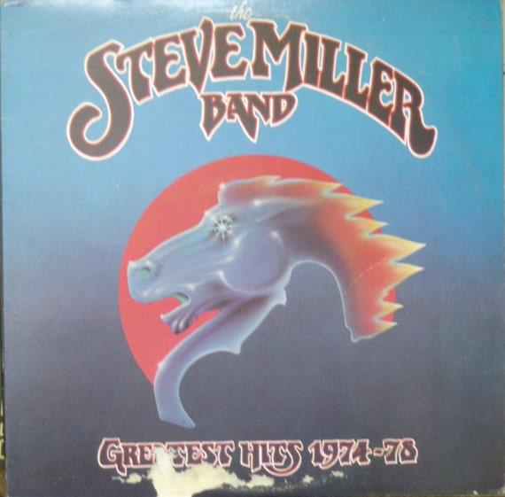 Steve Miller Band vinyl LP Greastest Hits 1974-78 NM Record
