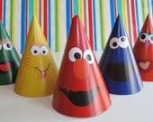 Sesame Street Character Party Hats