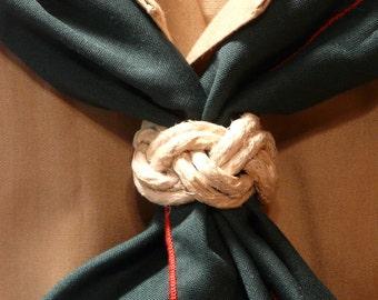 6 Boy Scout Woggles - Neckerchief Slide - Buy 5 Get 1 Free