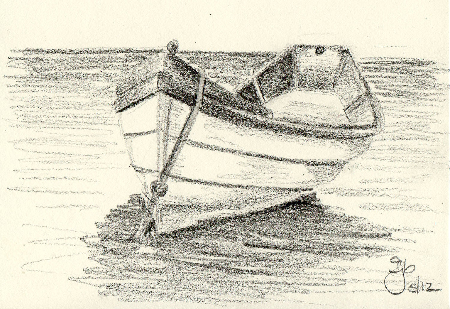 how to draw small sailboat