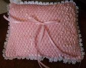Smocked Wedding Ring Bearer Pillow