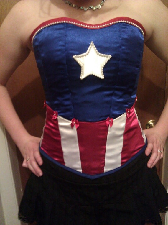 Captain America Corset